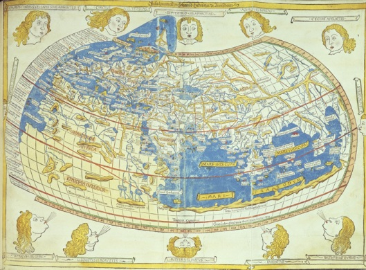 Ptolemy's map