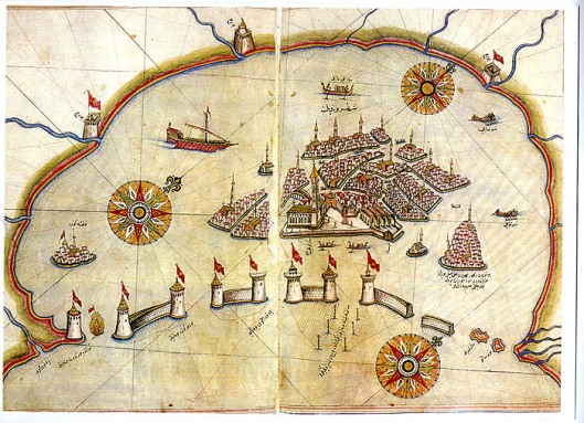 Early Map of Venice