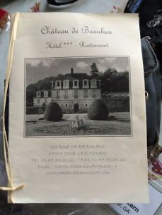 Chateau brochure